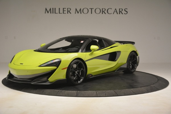 New 2020 McLaren 600LT SPIDER Convertible for sale $281,570 at Aston Martin of Greenwich in Greenwich CT 06830 2