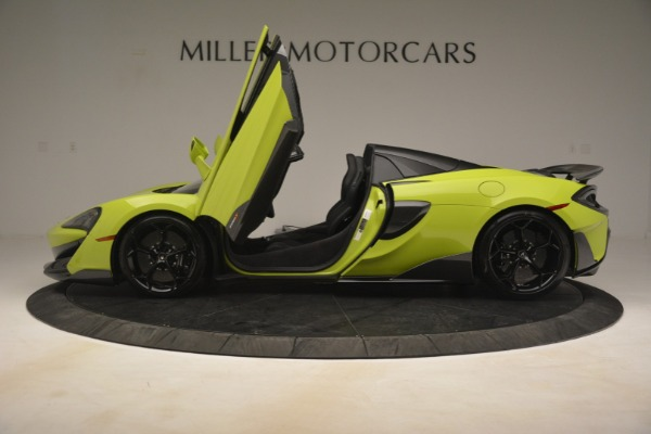 New 2020 McLaren 600LT Spider for sale $281,570 at Aston Martin of Greenwich in Greenwich CT 06830 20