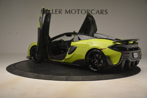 New 2020 McLaren 600LT SPIDER Convertible for sale $281,570 at Aston Martin of Greenwich in Greenwich CT 06830 21