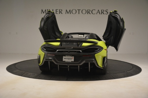 New 2020 McLaren 600LT Spider for sale $281,570 at Aston Martin of Greenwich in Greenwich CT 06830 22