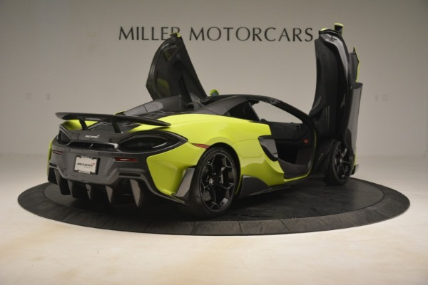 New 2020 McLaren 600LT Spider for sale $281,570 at Aston Martin of Greenwich in Greenwich CT 06830 23