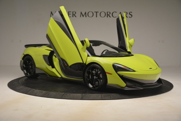 New 2020 McLaren 600LT Spider for sale $281,570 at Aston Martin of Greenwich in Greenwich CT 06830 25