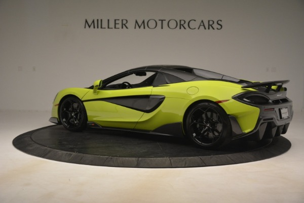 New 2020 McLaren 600LT Spider for sale $281,570 at Aston Martin of Greenwich in Greenwich CT 06830 4