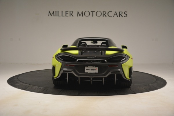 New 2020 McLaren 600LT SPIDER Convertible for sale $281,570 at Aston Martin of Greenwich in Greenwich CT 06830 5