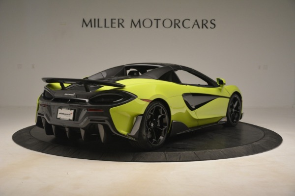New 2020 McLaren 600LT Spider for sale $281,570 at Aston Martin of Greenwich in Greenwich CT 06830 6