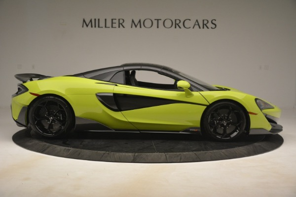 New 2020 McLaren 600LT Spider for sale $281,570 at Aston Martin of Greenwich in Greenwich CT 06830 7