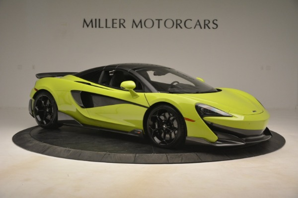 New 2020 McLaren 600LT Spider for sale $281,570 at Aston Martin of Greenwich in Greenwich CT 06830 8