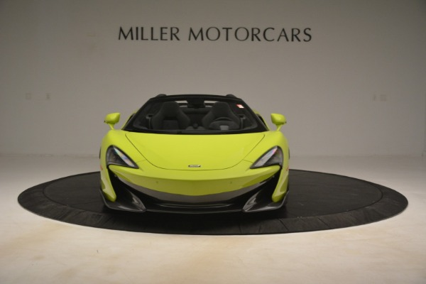 New 2020 McLaren 600LT Spider for sale $281,570 at Aston Martin of Greenwich in Greenwich CT 06830 9