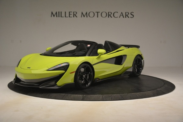 New 2020 McLaren 600LT SPIDER Convertible for sale $281,570 at Aston Martin of Greenwich in Greenwich CT 06830 1