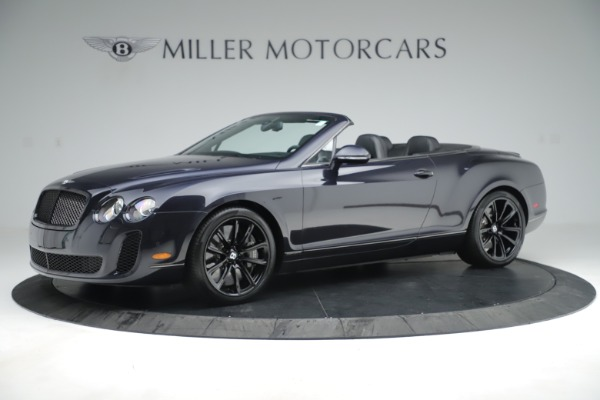 Used 2012 Bentley Continental GT Supersports for sale Sold at Aston Martin of Greenwich in Greenwich CT 06830 2