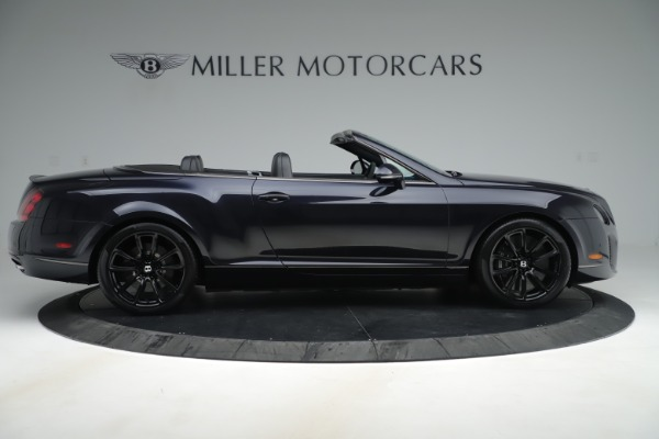 Used 2012 Bentley Continental GT Supersports for sale Sold at Aston Martin of Greenwich in Greenwich CT 06830 9