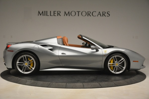 Used 2019 Ferrari 488 Spider for sale Sold at Aston Martin of Greenwich in Greenwich CT 06830 9