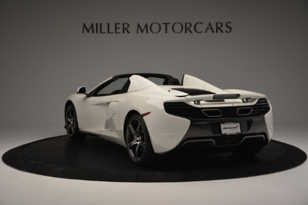 Used 2015 McLaren 650S Convertible for sale Sold at Aston Martin of Greenwich in Greenwich CT 06830 4