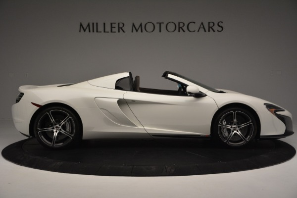 Used 2015 McLaren 650S Convertible for sale Sold at Aston Martin of Greenwich in Greenwich CT 06830 8
