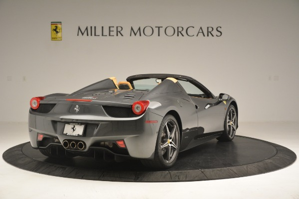 Used 2013 Ferrari 458 Spider for sale Sold at Aston Martin of Greenwich in Greenwich CT 06830 8