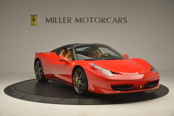 Used 2015 Ferrari 458 Spider for sale Sold at Aston Martin of Greenwich in Greenwich CT 06830 13