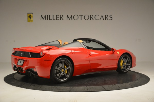 Used 2015 Ferrari 458 Spider for sale Sold at Aston Martin of Greenwich in Greenwich CT 06830 9