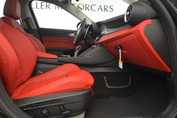 New 2019 Alfa Romeo Giulia Ti Sport Q4 for sale Sold at Aston Martin of Greenwich in Greenwich CT 06830 23