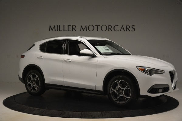 New 2019 Alfa Romeo Stelvio Q4 for sale Sold at Aston Martin of Greenwich in Greenwich CT 06830 10