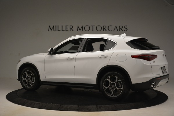 New 2019 Alfa Romeo Stelvio Q4 for sale Sold at Aston Martin of Greenwich in Greenwich CT 06830 4