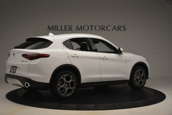 New 2019 Alfa Romeo Stelvio Q4 for sale Sold at Aston Martin of Greenwich in Greenwich CT 06830 8