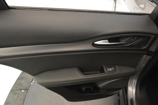 New 2019 Alfa Romeo Stelvio Ti Sport Q4 for sale Sold at Aston Martin of Greenwich in Greenwich CT 06830 21