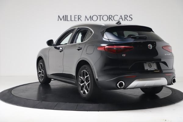 New 2019 Alfa Romeo Stelvio Ti Q4 for sale Sold at Aston Martin of Greenwich in Greenwich CT 06830 5