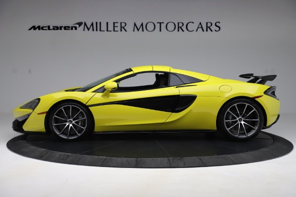 New 2019 McLaren 570S SPIDER Convertible for sale $227,660 at Aston Martin of Greenwich in Greenwich CT 06830 10