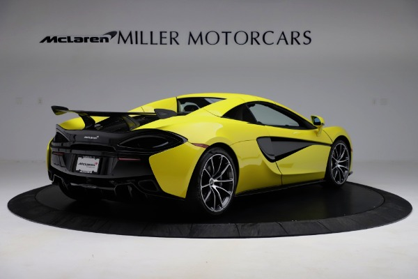 New 2019 McLaren 570S SPIDER Convertible for sale $227,660 at Aston Martin of Greenwich in Greenwich CT 06830 13