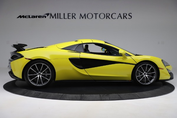 New 2019 McLaren 570S SPIDER Convertible for sale $227,660 at Aston Martin of Greenwich in Greenwich CT 06830 14