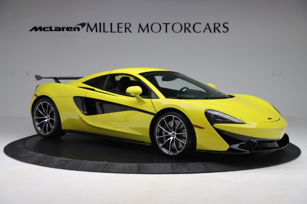 New 2019 McLaren 570S SPIDER Convertible for sale $227,660 at Aston Martin of Greenwich in Greenwich CT 06830 15