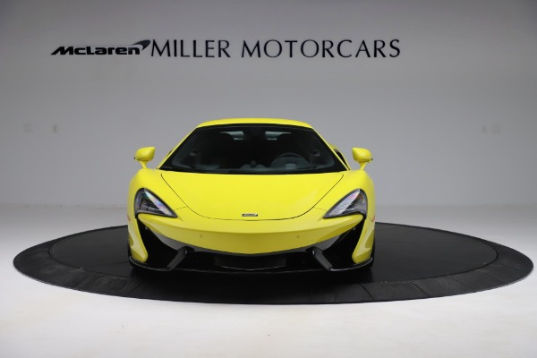 New 2019 McLaren 570S SPIDER Convertible for sale $227,660 at Aston Martin of Greenwich in Greenwich CT 06830 16