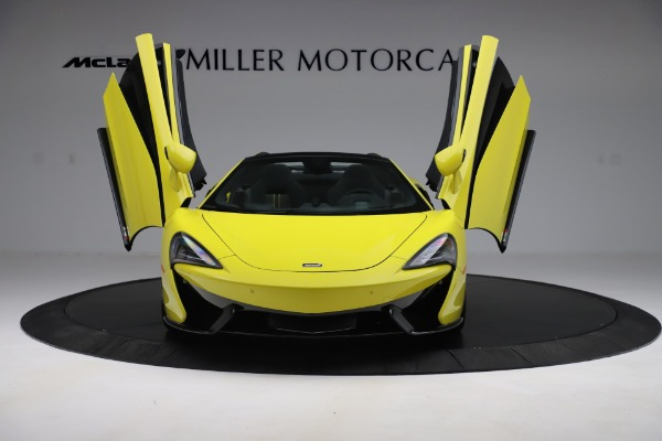New 2019 McLaren 570S SPIDER Convertible for sale $227,660 at Aston Martin of Greenwich in Greenwich CT 06830 17