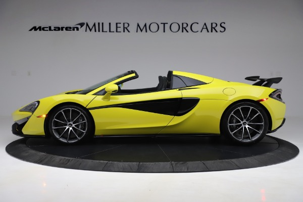 New 2019 McLaren 570S SPIDER Convertible for sale $227,660 at Aston Martin of Greenwich in Greenwich CT 06830 2