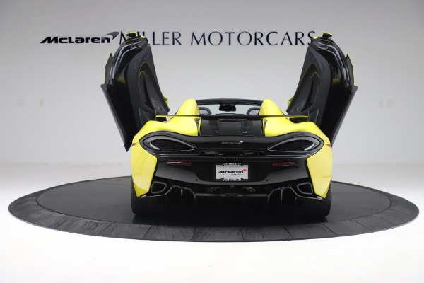 New 2019 McLaren 570S SPIDER Convertible for sale $227,660 at Aston Martin of Greenwich in Greenwich CT 06830 20