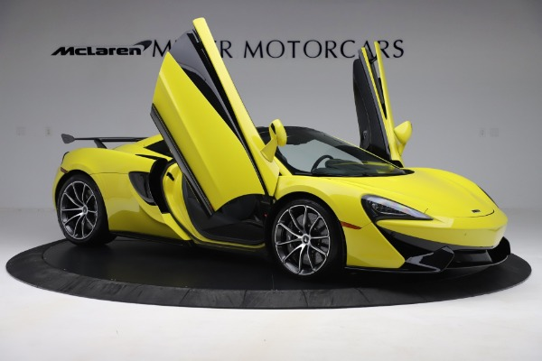 New 2019 McLaren 570S SPIDER Convertible for sale $227,660 at Aston Martin of Greenwich in Greenwich CT 06830 22