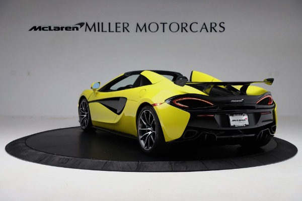 New 2019 McLaren 570S SPIDER Convertible for sale $227,660 at Aston Martin of Greenwich in Greenwich CT 06830 3