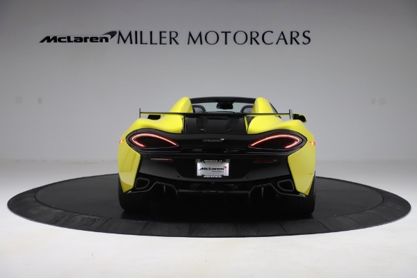 New 2019 McLaren 570S SPIDER Convertible for sale $227,660 at Aston Martin of Greenwich in Greenwich CT 06830 4