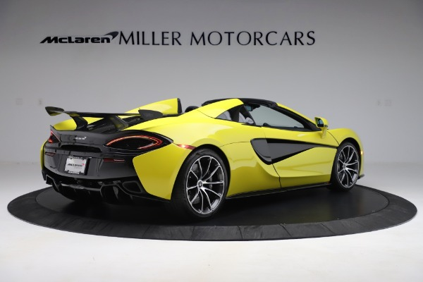 New 2019 McLaren 570S SPIDER Convertible for sale $227,660 at Aston Martin of Greenwich in Greenwich CT 06830 5