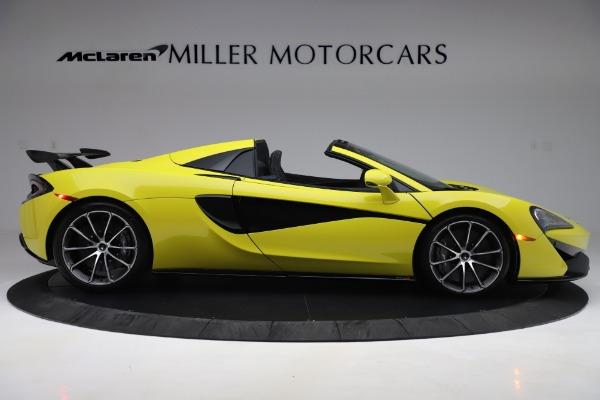 New 2019 McLaren 570S SPIDER Convertible for sale $227,660 at Aston Martin of Greenwich in Greenwich CT 06830 6