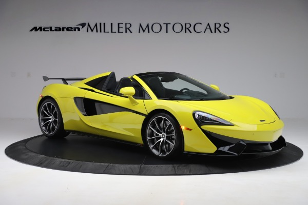 New 2019 McLaren 570S SPIDER Convertible for sale $227,660 at Aston Martin of Greenwich in Greenwich CT 06830 7