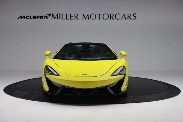 New 2019 McLaren 570S SPIDER Convertible for sale $227,660 at Aston Martin of Greenwich in Greenwich CT 06830 8