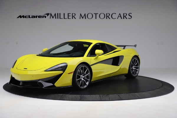 New 2019 McLaren 570S SPIDER Convertible for sale $227,660 at Aston Martin of Greenwich in Greenwich CT 06830 9