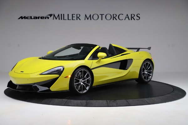 New 2019 McLaren 570S SPIDER Convertible for sale $227,660 at Aston Martin of Greenwich in Greenwich CT 06830 1