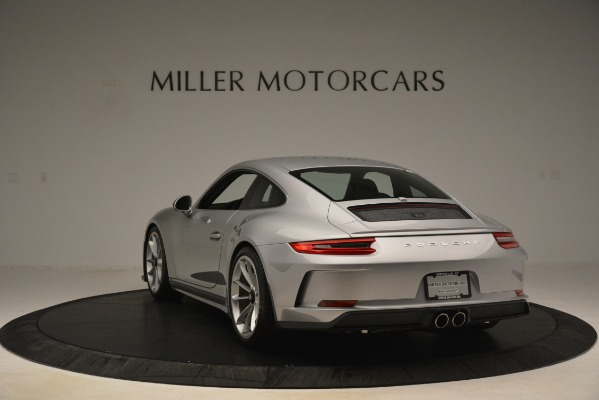Used 2018 Porsche 911 GT3 for sale Sold at Aston Martin of Greenwich in Greenwich CT 06830 5