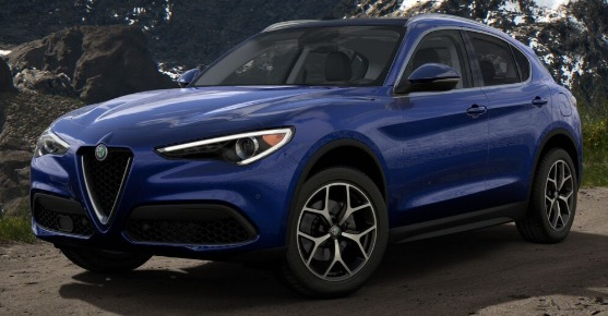 New 2019 Alfa Romeo Stelvio Ti Q4 for sale Sold at Aston Martin of Greenwich in Greenwich CT 06830 1