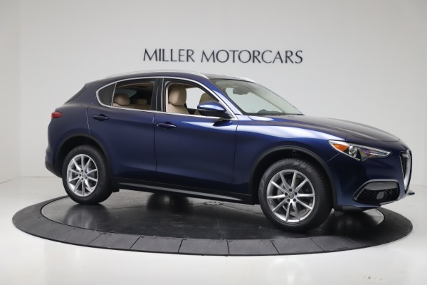 New 2019 Alfa Romeo Stelvio Ti Lusso Q4 for sale Sold at Aston Martin of Greenwich in Greenwich CT 06830 10