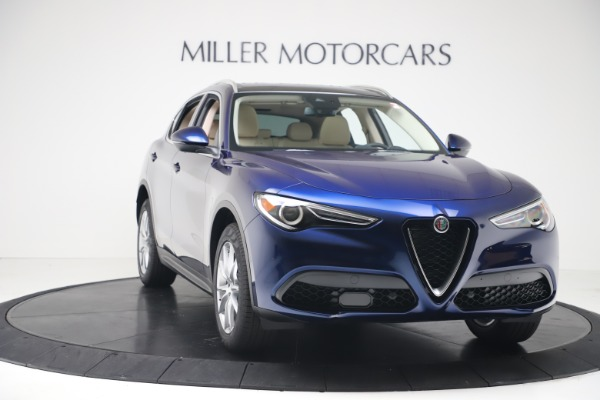 New 2019 Alfa Romeo Stelvio Ti Lusso Q4 for sale Sold at Aston Martin of Greenwich in Greenwich CT 06830 11