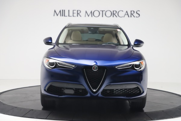 New 2019 Alfa Romeo Stelvio Ti Lusso Q4 for sale Sold at Aston Martin of Greenwich in Greenwich CT 06830 12