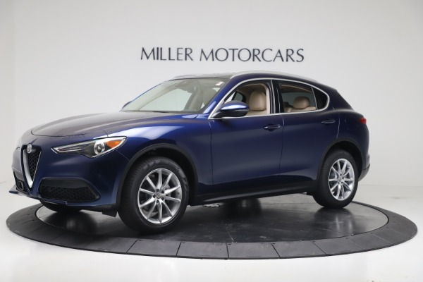 New 2019 Alfa Romeo Stelvio Ti Lusso Q4 for sale Sold at Aston Martin of Greenwich in Greenwich CT 06830 2